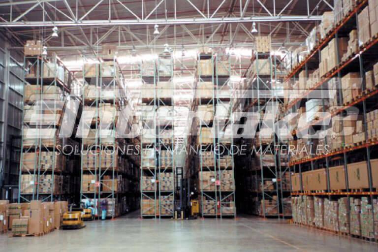 Warehouse racks: conoce las características del rack estructural