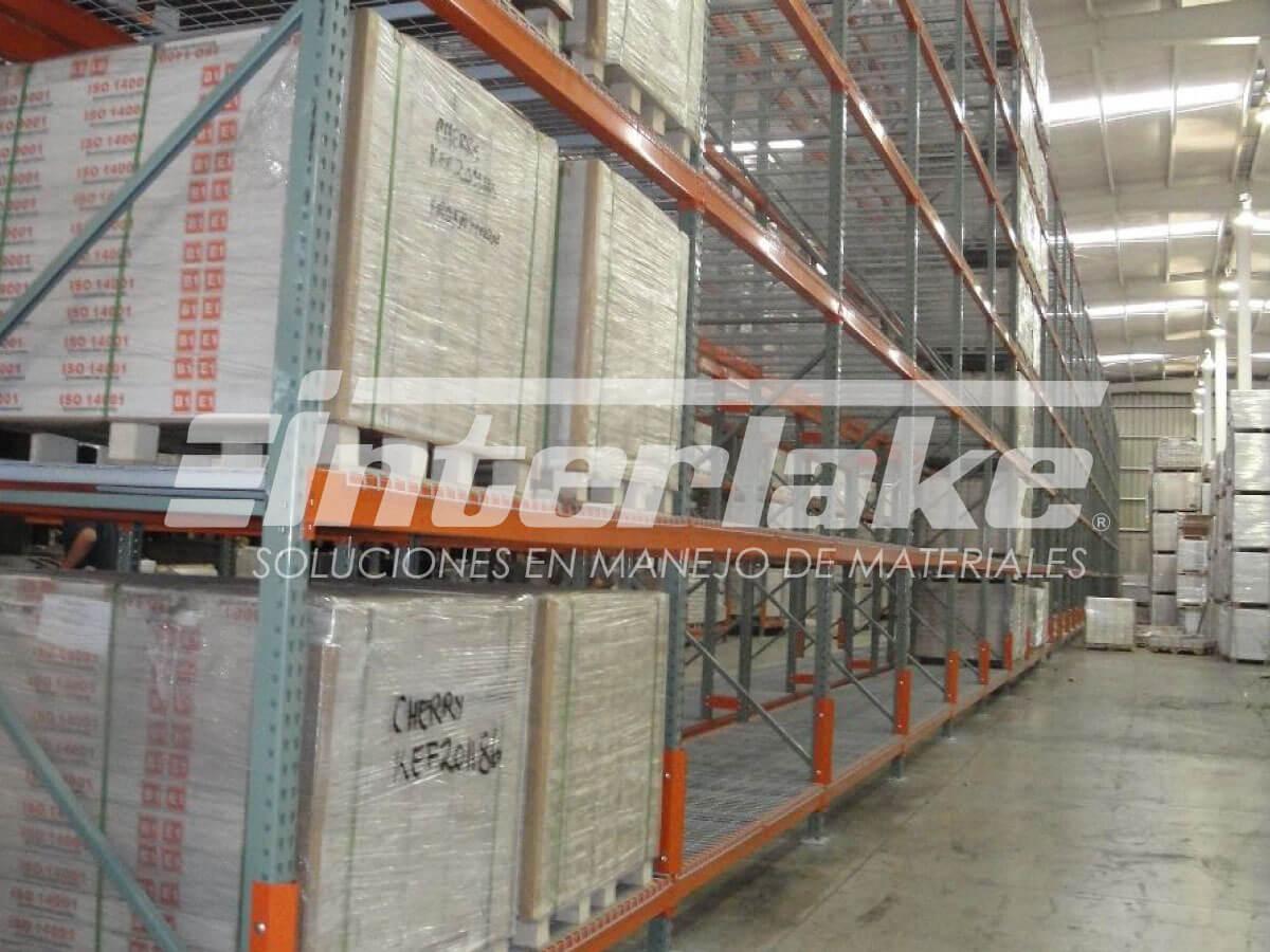 Tipos de estanterias industriales