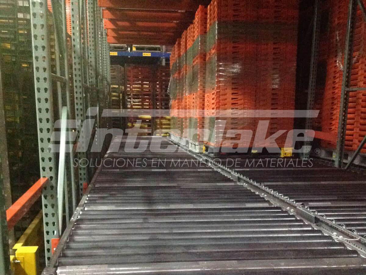 Racks dinámicos para almacén
