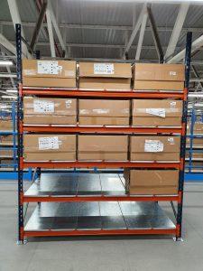 ¿Qué estanterías pueden usarse para cargas manuales?