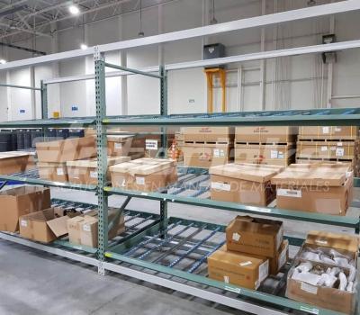 Tipos de carton flow racks y sus usos en la industria
