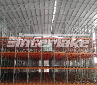 Cómo se calcula la capacidad de carga de las estanterias industriales