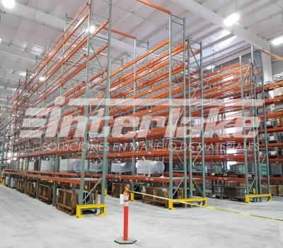 Warehouse racks: gestión de la cadena de suministro
