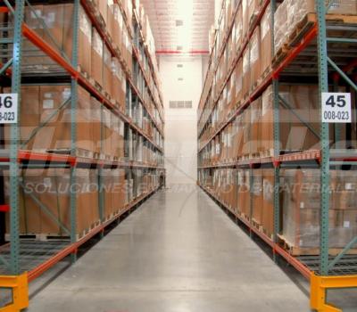Las estanterías para pallets son su garantía de productividad