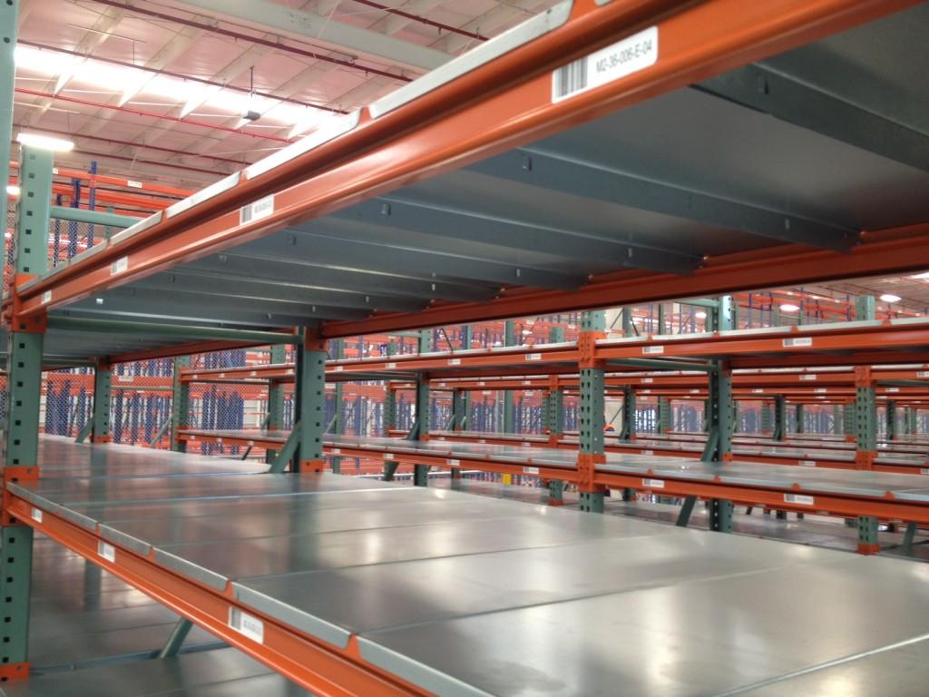 estanterías industriales